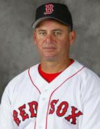 Euclides Rojas entrenador de Bullpen de los Red Sox